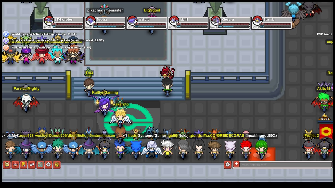 Pokemon mmorpg